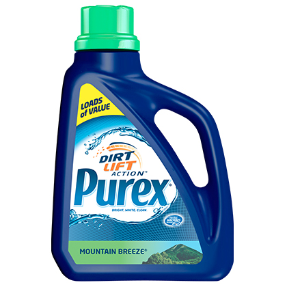 Purex Liquid Laundry Detergent with Mountain Breeze Scent